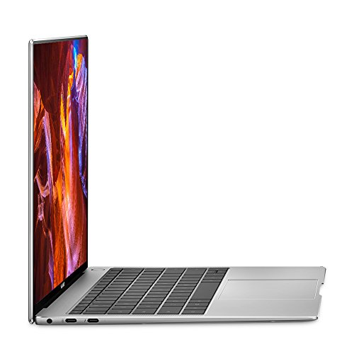 Huawei MateBook X Pro Signature Edition Mach-W19B - 13.9-inch 3K Touchscreen, 8th Generation Intel Core i5-8250U, 8 GB RAM, 256 GB SSD, Mystic Silver