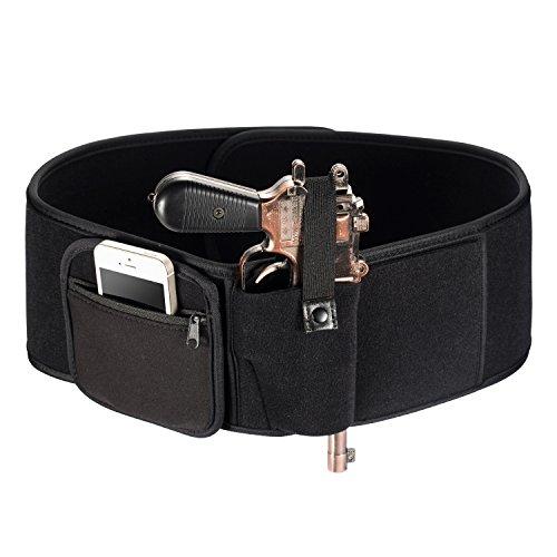LHIABNN Portable Safe Hidden Waistband,Outdoor Wrap Belt for Men Women Running Walking Hiking Outside,Hand Gun Pistols Holster Case Holder Belt