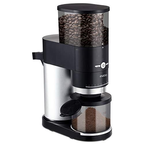Conical Burr Coffee Grinder, ENZOO Electric Coffee Bean Grinder with Detachable Design for Easy Cleaning, 40 Precise…