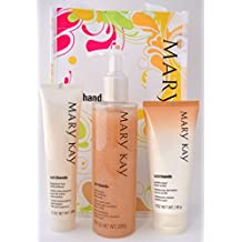 Mary Kay Satin Hands Pampering Set ~ Peach