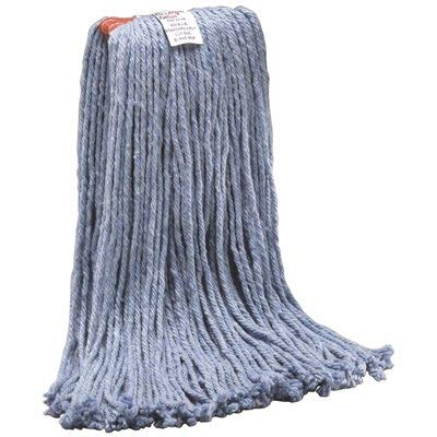 Renown (12-Pack) 16 Standard Blue Blend Cut-End Wet Mop Head with 1 in. Head Band