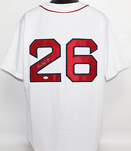 Wade Boggs Signed Jersey - w ins COA - JSA Certified - Autographed MLB Jerseys (Jersey Wade Autographed Boggs)