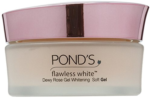 White Rose Shower Gel (Pond's Flawless White Dewy Rose Gel Whitening Soft Gel : 50g)