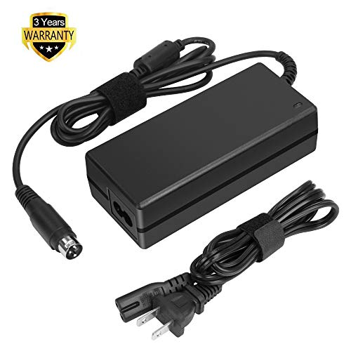 HKY 24v (3-pin) Ac Dc Adapter Compatible with Epson POS Thermal POS ReadyPrint Thermal Receipt Printer (C31CD52062) Replacement Switching Power Supply Cord Charger