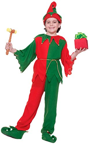 [Forum Novelties Santa's Elf Costume, Child Small] (Childrens Santas Helper Costume)
