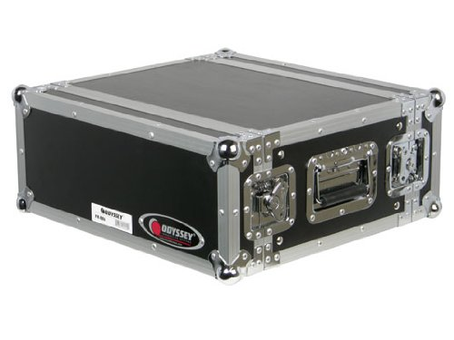 Odyssey Frer4 4 Space Effects Rack Case