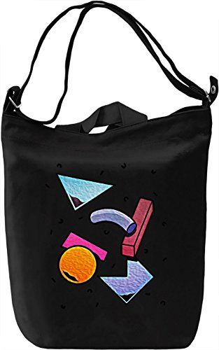 Colourful Mess Borsa Giornaliera Canvas Canvas Day Bag| 100% Premium Cotton Canvas| DTG Printing|