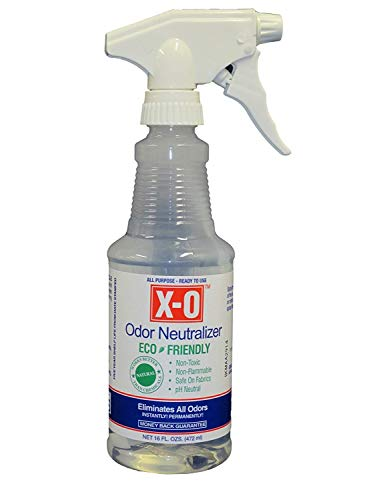 XO Plus Odor Neutralizer/Cleaner Concentrated (32oz, 1gallon, 5gallons) - All-Natural Odor Neutralizer Deodorizer, 16-Ounce, Clear (Best Cologne To Cover Up Weed)