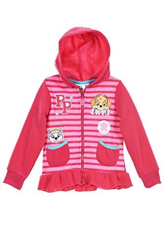 Paw Patrol Nickelodeon Meisjes Officiële Hoodie, Hooded Jumper, Sweatshirt 2-6 Jaar – Skye, Everest Charcaters – Laatste…