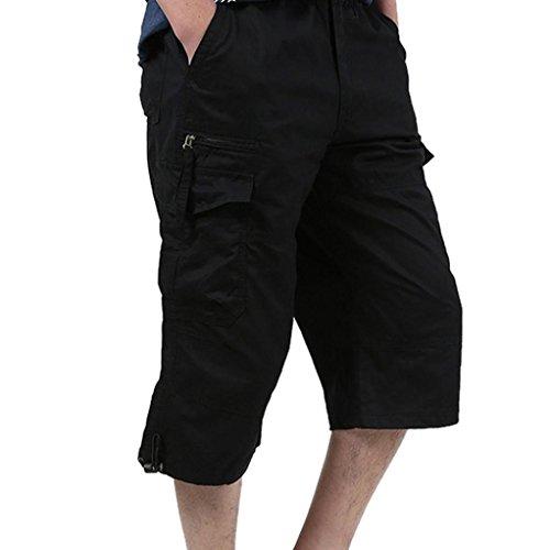 de cortos Pantalones verano m redondos Hombres Pantalones de Adeshop con suelta cintura Temporada qvwExzHA