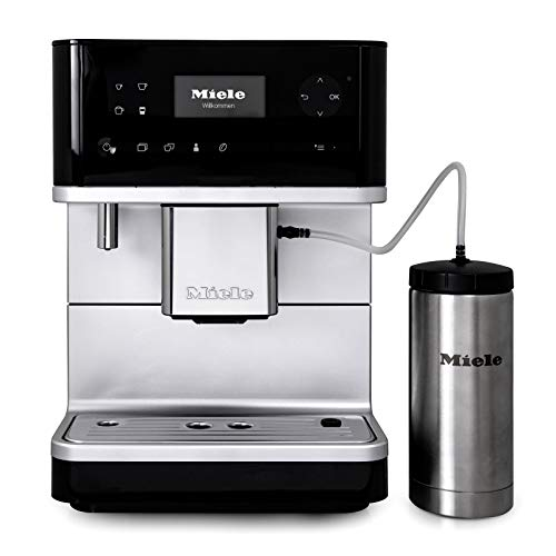 Miele CM6350 OneTouch Super-Automatic Countertop Coffee & Espresso Machine – Obsidian Black