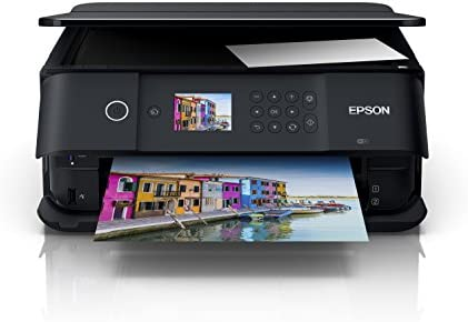 Epson Expression Premium XP-6000 - Impresora multifunción Wi-Fi, Color Negro, Ya Disponible en Amazon Dash Replenishment