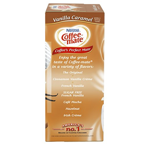 NESTLE COFFEE-MATE Coffee Creamer, Vanilla Caramel, liquid creamer singles, Pack of 50 by Nestle Coffee Mate (Image #4)