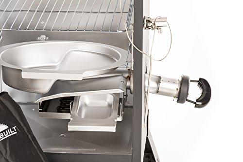 Masterbuilt-20076716-4-Rack-Digital-Electric-Smoker-with-Leg-Kit-Cover-and-Gloves-30-Cinnamon