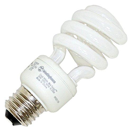 Westinghouse 3666000, 14 Watt CFL Light Bulb, (60W Equal) 4100K Cool White 80 CRI 830 Lumens ()