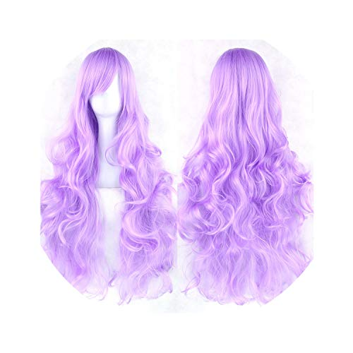 Long Curly Women'S Hairpiece High Temperature Fiber Synthetic