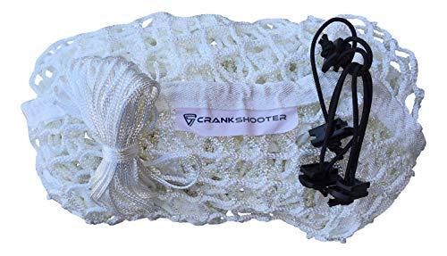 CrankShooter 4mm 1000d White Replacement Net 6'x6'x7' Goal 1000d hi tension poly material
