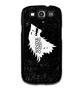 Tomhousomick Custom Design A Song Of Ice And Fire : Game of Thrones Case Cover For Samsung Galaxy S3 I9000 2015 Hot New Style
