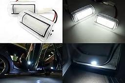 LEDIN 2x LED Courtesy Footwell Step Side Door Light Lexus IS ES GS LS RX GX LX F White