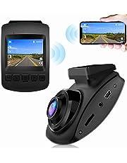 【2021 New Version】 Dash Cam, CHORTAU Dash Cam WiFi Sony Sensor Full HD 1080P, Dashboard Camera for Car 2 Inch Screen 170° Wide Angle, Car Camera with Loop Recording, Parking Monitor, Motion Detection