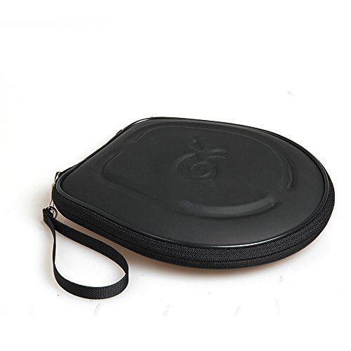 For AmazonBasics Lightweight On-Ear Headphones Hard EVA Protective Travel Case Carrying Pouch (Hard Protective Carrying Case)