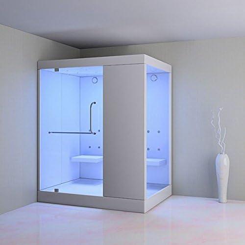 Gran hammam ducha de cabina, Sans caillebotis, Ouverture gauche: Amazon.es: Hogar