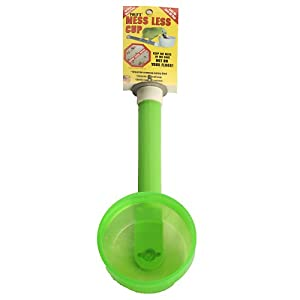 Polly's Short Mess Less Cup for Pet Birds, Large Special Deal