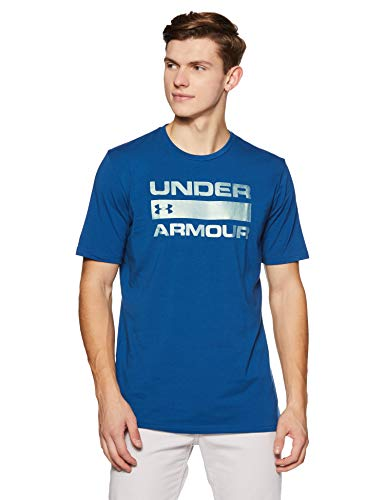 Under Armour Men's Team Issue Wordmark T-Shirt, Moroccan Blue /Black, Small ()