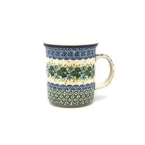 Polish Pottery Mug – Big Straight Sided – Ivy Trail