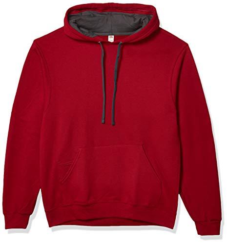Fruit of the Loom Men's Hooded Sweatshirt