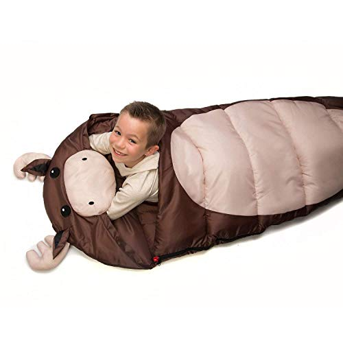 Outdoor Sleeping Bag Kid's Animal, Moose by Outdoor Sleeping Bag