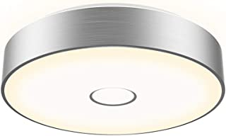 Onforu 18W LED Round Ceiling Light, 1600LM IP65 Waterproof Super Bright Flush Bathroom Lights with Aluminum Side, 90+ CRI 5000K Daylight White Wall Mounted Ceiling Lamp for Living Room, Bedroom