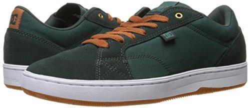 DC Men's Astor Skateboarding Shoe, Dark Green, 9 D US
