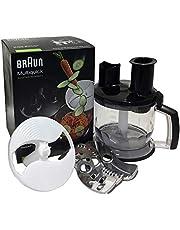 Braun köksmaskiner Top MQ 70 – handmixer tillbehör kompatibel med Braun MultiQuick handmixer med EasyClick System, 1,5 l, svart