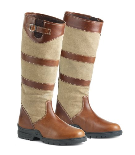 Ovation Womens Cora Country Boot - 468607 Brown OZu3A8S