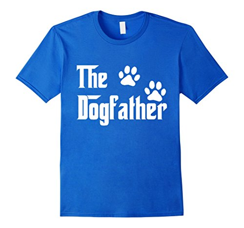 The Dogfather T-Shirt | The DogFather Footprint Paw T-Shirt