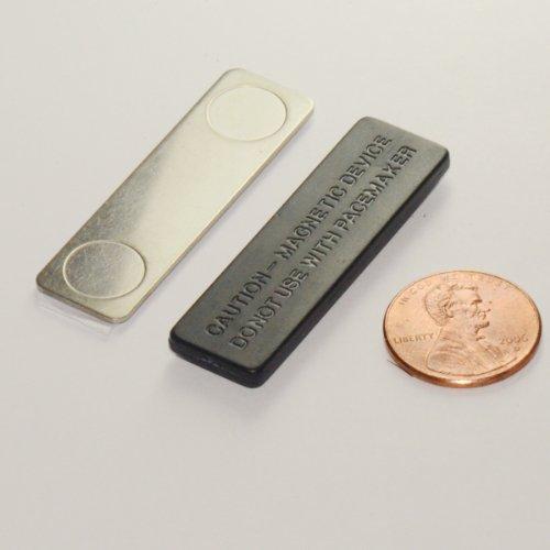 Set of 10 - of CMS Magnetics® Name Badge Magnets Model BM-2MAG-4