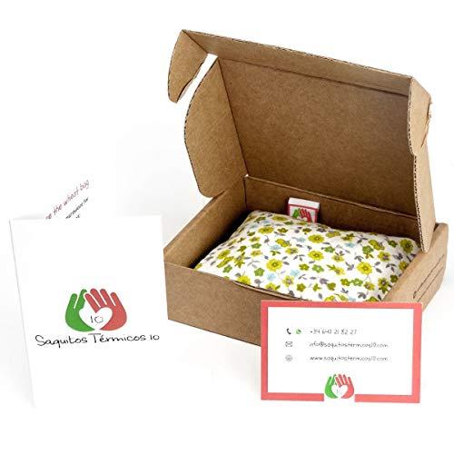 COJÍN ANTICÓLICOS para BEBÉS ✿ 15x10 cm ✿ Almohada Saco Térmico de Semillas para Microondas Tela de Algodón 100% Hecho a Mano ➤ST10: Amazon.es: Handmade