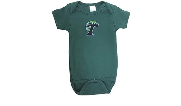 f70ae7042 Amazon.com : Future Tailgater Tulane Green Wave Team Spirit Baby Onesie ( Newborn) : Sports & Outdoors