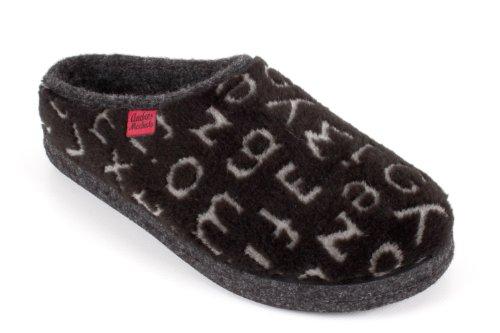 Pantofole Feltro Eu Alpino comodissime Machado Dal taglie Am001 Al 32 In Letrasnegro 50 Andres donna RxngqtWRz