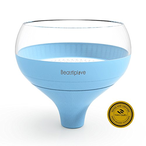 Beautiplove Portable Water Filter Updated Version, Fills Any Water Pitcher, Fast Filtering BPA Free Water Purifier with Patented ACF Technology