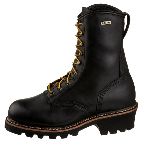 Golden Retriever Mens 9092 Vattentät Logger Svart