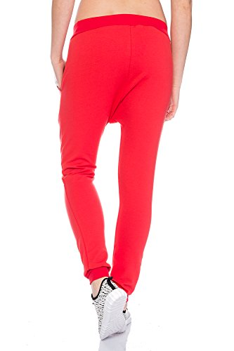 Crazy Age - Pantalón - para mujer Rojo