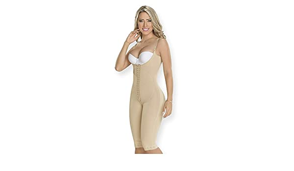da78b41cd3388 Amazon.com  Fajas Colombianas Medium Compression Girldle with Abdominal  Support MYD Fajas Colombianas Reductoras Post Surgical Body Shaper Girdles  Ref 0478  ...