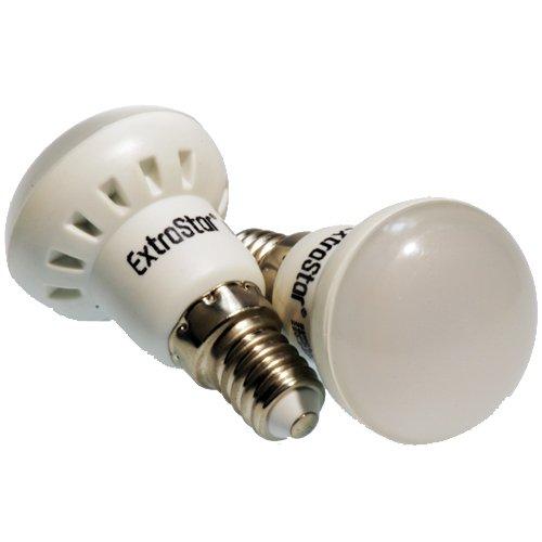 EXTRASTAR Bombilla LED 3,54 W equivalente a 30 W, forma Compact, casquillo E14 10SMD 6500 K luz fría: Amazon.es: Iluminación