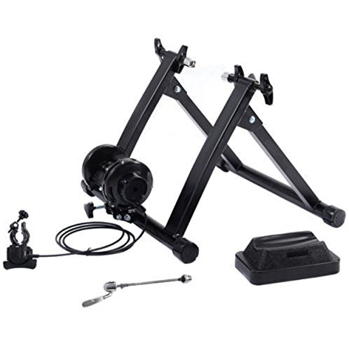 Phumon567 New Indoor Bicycle Trainer Exercise Bike Machine Ride Stand W/ 5 Levels image