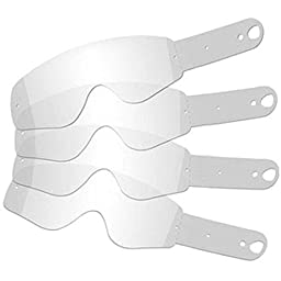 MotoSpec Standard Tear-Offs for MX/Motocross Off-road Fits All 100% Racecraft Accuri Strata Goggles 20 Pack
