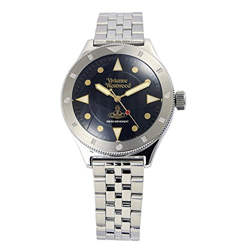 Vivienne Westwood watch SMITHFIELD Black Dial Stainless Steel Quartz VV160BKSL Men's parallel import goods]
