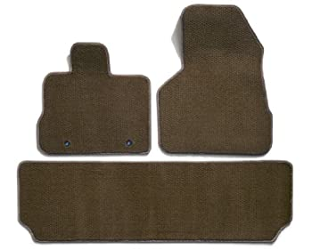 Premier Custom Fit 3-piece Set with 2 Front and 1 Rear Carpet Floor Mats for Nissan Murano (Premium Nylon, Taupe)