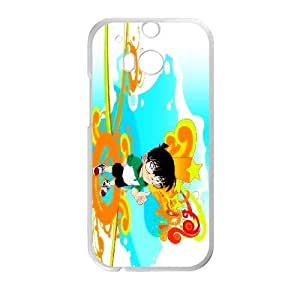 HTC One M8 Phone Case White Detective Conan WQ5RT7418368